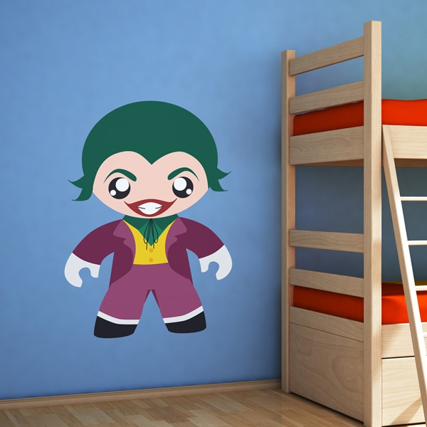 Kinderzimmer Wandtattoo: Super Villain