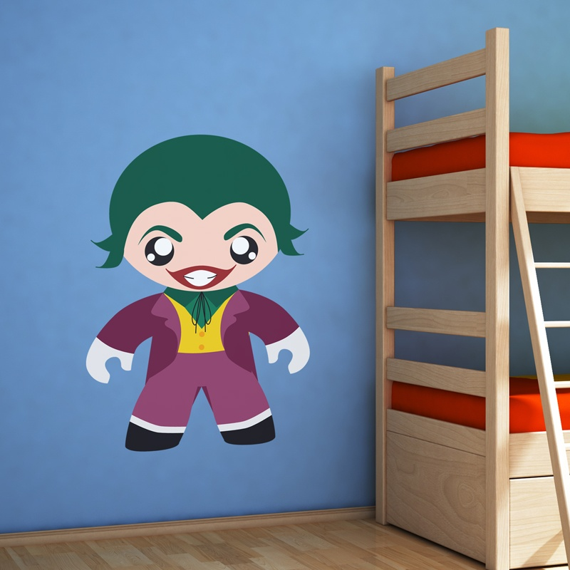 Kinderzimmer Wandtattoo: Super Villain