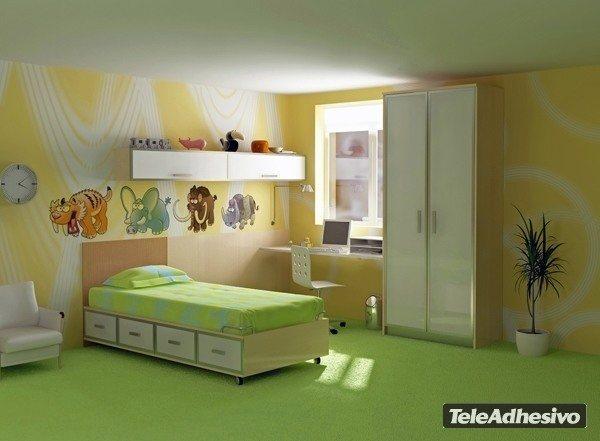 Kinderzimmer Wandtattoo: Dientes de Sable