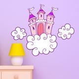 Kinderzimmer Wandtattoo: Castle 1 0
