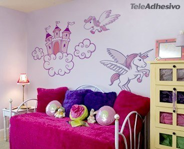 Kinderzimmer Wandtattoo: Castle 1