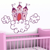 Kinderzimmer Wandtattoo: Castle 1 5
