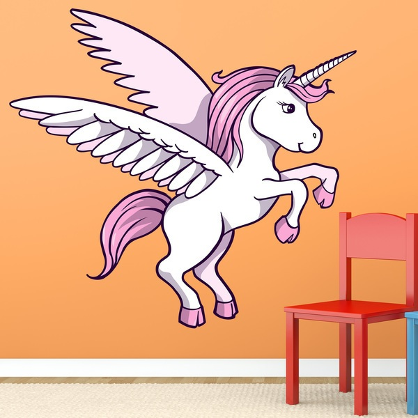 Kinderzimmer Wandtattoo: Unicorn  1