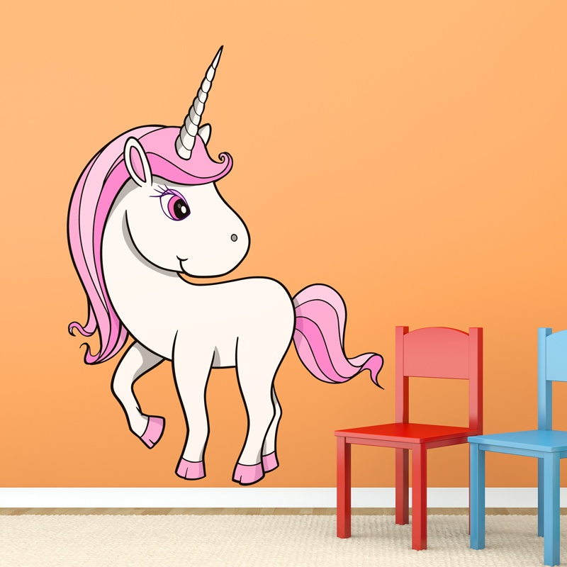 Kinderzimmer Wandtattoo: Unicorn  4