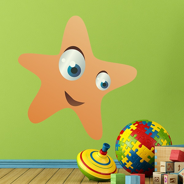 Kinderzimmer Wandtattoo: Starfish