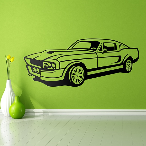 Wandtattoos: Ford Mustang Shelby