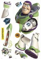 Kinderzimmer Wandtattoo: Buzz Lightyear Riesen 3