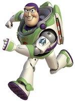 Kinderzimmer Wandtattoo: Buzz Lightyear Riesen 4