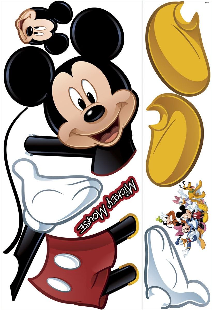 Kinderzimmer Wandtattoo: Micky Maus Wandtattoo