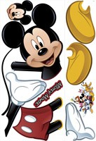 Kinderzimmer Wandtattoo: Micky Maus Wandtattoo 1