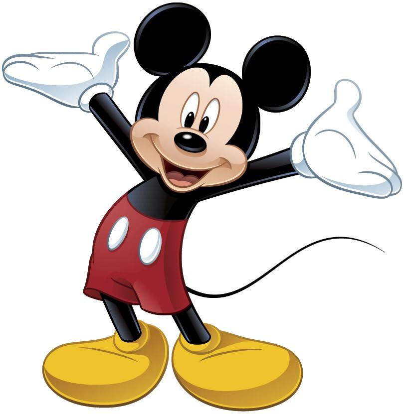 Wandtattoo kinder Große Micky Maus | WebWandtattoo.com