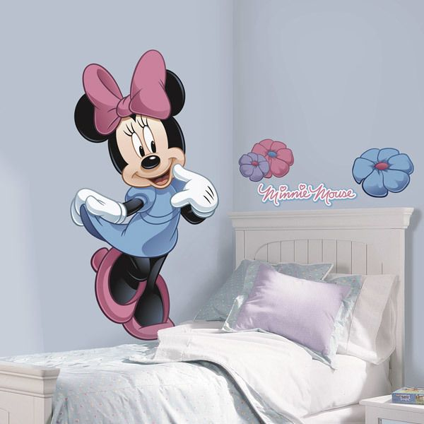 Kinderzimmer Wandtattoo: Minnie Mouse Riesen