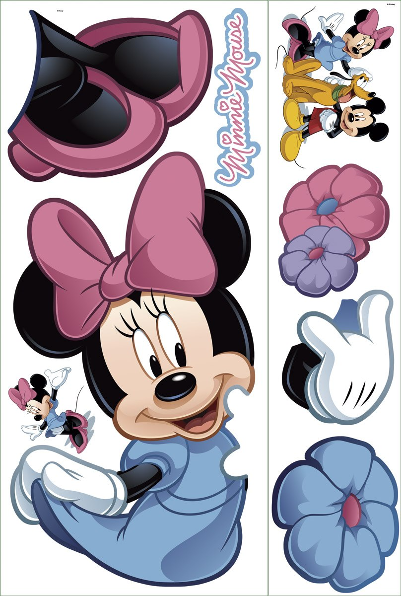 Kinderzimmer Wandtattoo: Minnie Mouse Riesen