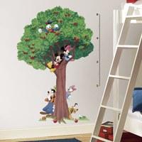 Kinderzimmer Wandtattoo: Wandtattoo Baum Messlatte Mickey und Freunde 0