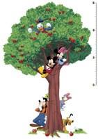Kinderzimmer Wandtattoo: Wandtattoo Baum Messlatte Mickey und Freunde 4