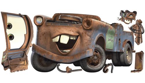 Kinderzimmer Wandtattoo: Riesige Hook Wandtattoo - Cars
