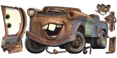 Kinderzimmer Wandtattoo: Riesige Hook Wandtattoo - Cars 4