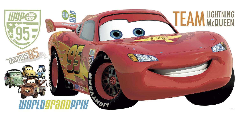 Kinderzimmer Wandtattoo: Riesige Lightning McQueen Wandtattoo