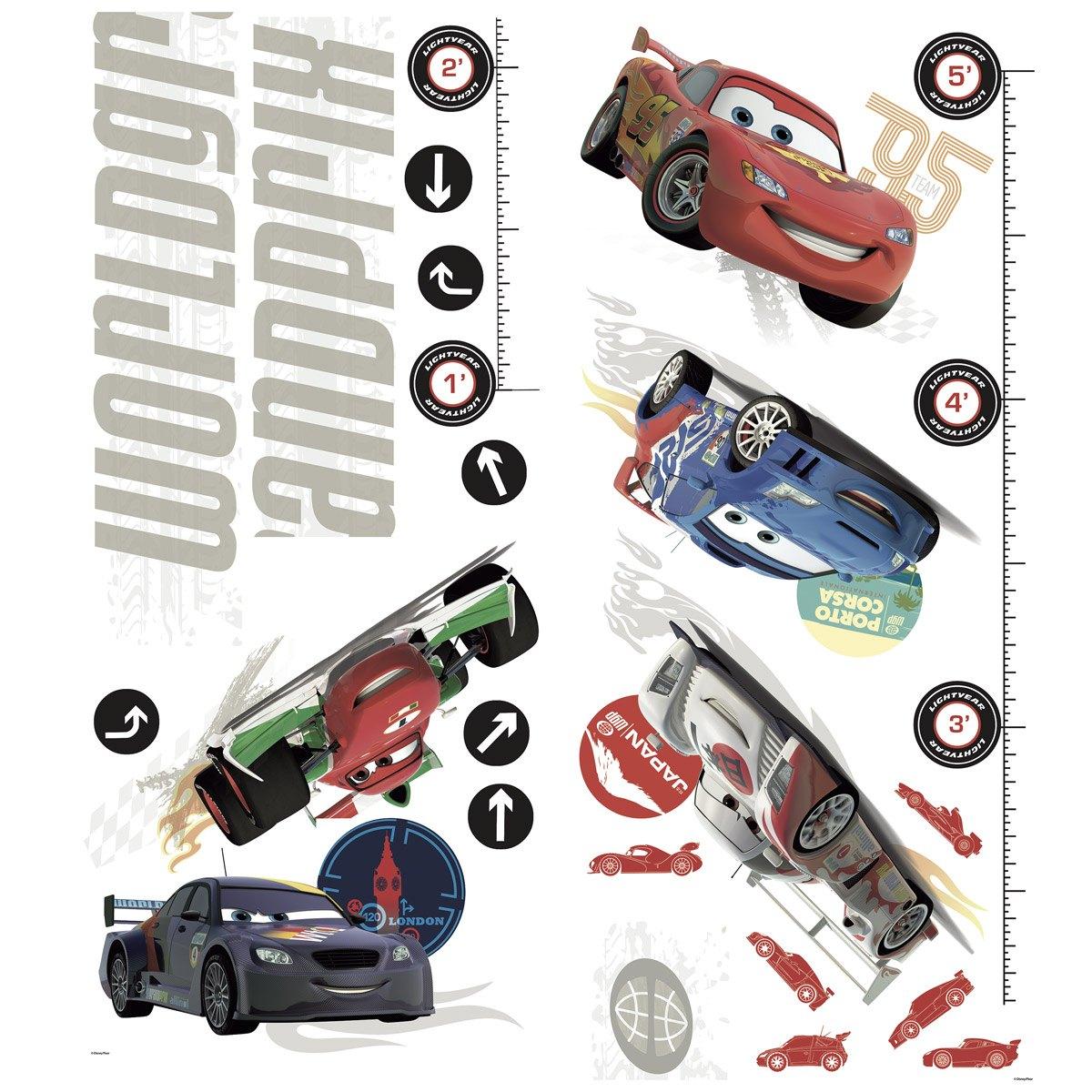 Lightning McQueen Messlatte - Cars 2