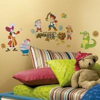 Kinderzimmer Wandtattoo: Jake und die Nimmerland-Piraten 0