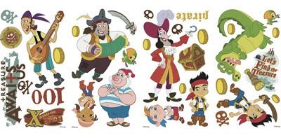 Kinderzimmer Wandtattoo: Jake und die Nimmerland-Piraten 1