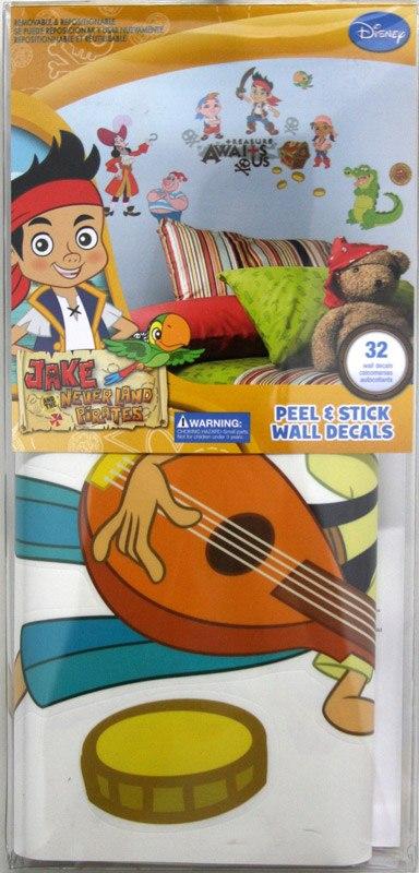 Kinderzimmer Wandtattoo: Jake und die Nimmerland-Piraten