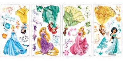 Kinderzimmer Wandtattoo: Wandtattoo Disney Princess Royal Debut 1