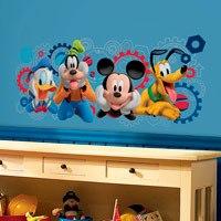 Kinderzimmer Wandtattoo: Micky und Freunde - Micky Maus Wunderhaus 0