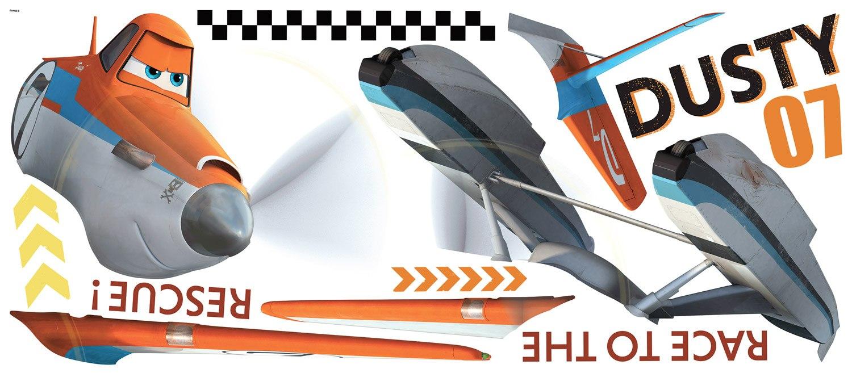 Géant Dusty Wandtattoo Planes 2 Immer im Einsatz