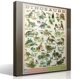 Wandtattoos: Dinosaurs 4