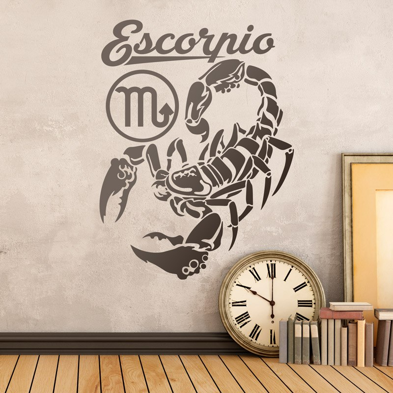 Wandtattoos: zodiaco 30 (Escorpio)