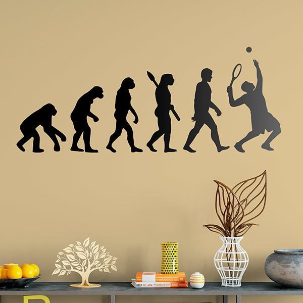 Wandtattoos: Evolution Tennis