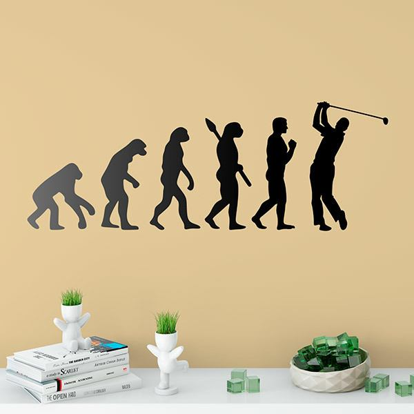 Wandtattoos: Golf evolution evolution