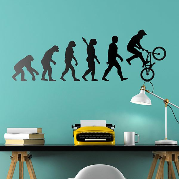 Wandtattoos: BMX Evolution