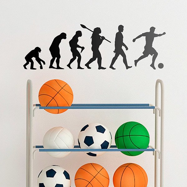 Wandtattoos: Fußball evolution