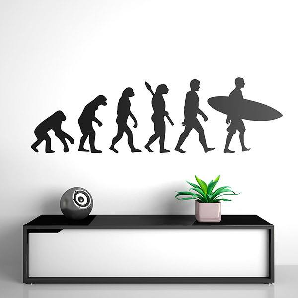 Wandtattoos: Surf evolution