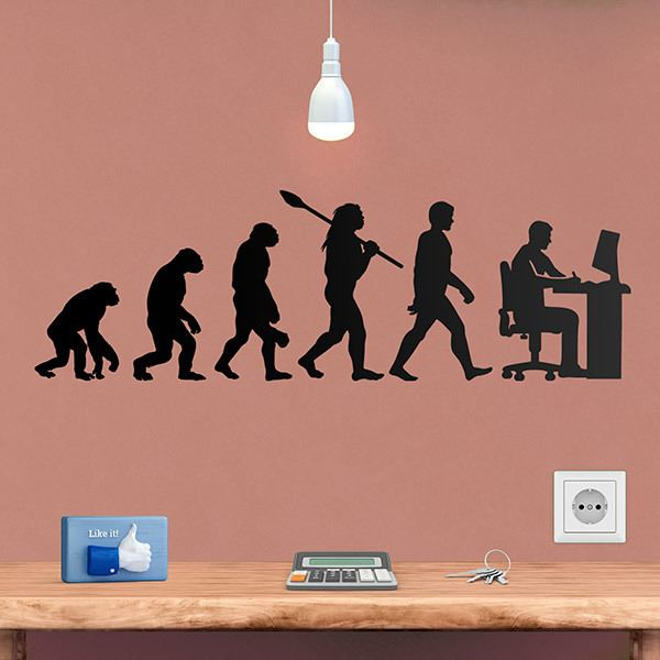 Wandtattoos: Grafikdesigner evolution