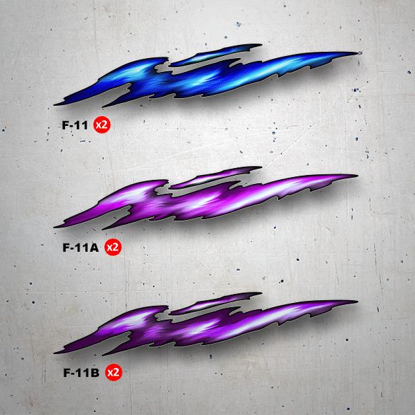Aufkleber: 3DF-11
