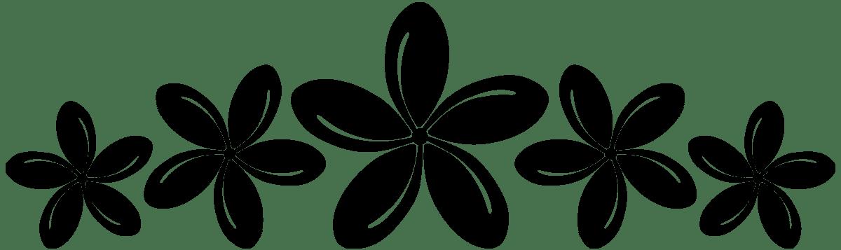 Wandtattoos: Flower Hawai