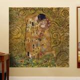 Fototapeten: Klimt kiss 3