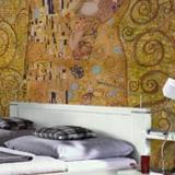 Fototapeten: Klimt kiss 4