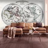 Fototapeten: Weltkarte 3 2