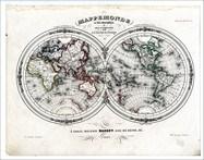Fototapeten: Weltkarte 3 3