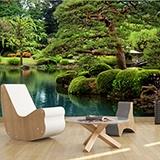 Fototapeten: Jardin japonés 3