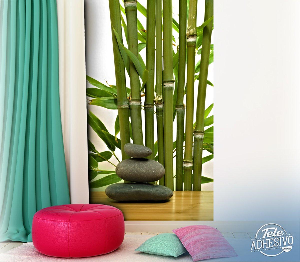 Fototapete Bambus Und Steine Webwandtattoo Com