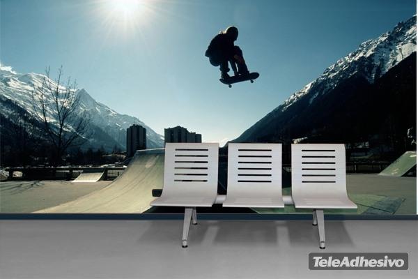 Fototapeten: Skateboard