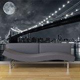 Fototapeten: Big Bridge Nacht 3