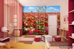Fototapeten: Blume Feld 2
