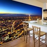Fototapeten: Paris leuchtet die Nacht 2
