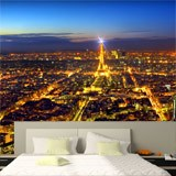 Fototapeten: Paris leuchtet die Nacht 3
